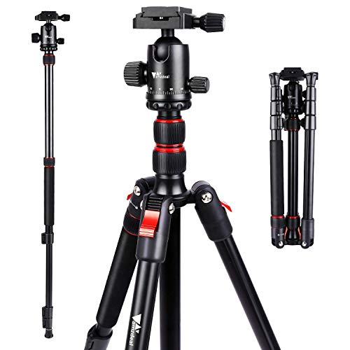 Amzdeal-Trpied-Appareil-Photo-Portable-164cm-Monopode-Trpied-Hauteur-Rglable-en-Alliage-daluminium-avec-rotule–360-Trpied-Voyage-pour-Appareil-Photo-Canon-Nikon-Sony-Samsung-Olympus-Panasonic-0