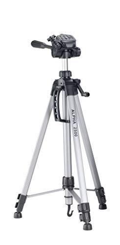 Cullmann-52125-Alpha-2500-Kit-Trpied–manivelle-165-cm-ultralger-1277-g-argent-avec-tui-et-tte–3-voies-pour-appareil-photo-photo-compact-DSLR-CSC-BRIDGE-DV-camscope-de-Canon-Canon-EOS-Nikon-Sony-0