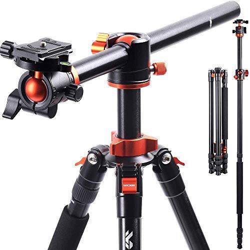 KF-Concept-Trepied-Appareil-Photo-230cm-Monopode-Trpied-Reflex-Pied-Camra-Vido-avec-Bras-Dport-en-Aluminium-4-Sections-Charge-Max-10-kg-SA254T1-0