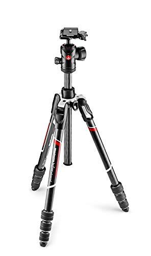 Manfrotto-Befree-Advanced-Kit-de-Trepied-Rotatif-pour-Appareil-Photo-avec-Rotule-Fluide-et-Fermeture-a-Visser-Support-Smartphone-et-Telephone-en-Carbone-Stabilisateur-pour-Reflex-et-sans-Reflet-0