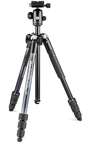 Manfrotto-Element-MII-Trepied-pour-Appareil-Photo-en-Aluminium-avec-Rotule-et-Sac-de-Transport-Support-pour-Smartphone-et-Telephone-Stabilisateur-pour-Appareils-photo-compacts-CSC-DSLR-0