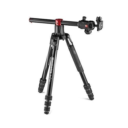 Manfrotto-MKBFRA4GTXP-BH-Befree-GT-XPRO-Trepied-Aluminium-Rotule-Ball-Centree-496-M-Lock-Colonne-90-Plateau-200PL-PRO-pour-Reflex-et-Hybrides-avec-Objectifs-a-Longue-Focale-Photo-Macro-0