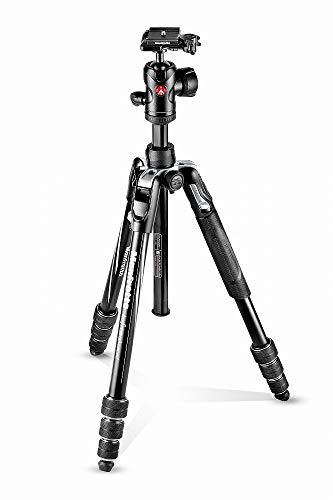 Manfrotto-MKBFRTA4BK-BH-Befree-Advanced-Trepied-de-Voyage-Fermeture-Twist-MLock-Rotule-Ball-pour-Canon-Nikon-Sony-Reflex-Compact-Hybride-Charge-Max-8kg-Sac-inclus-Aluminium-Noir-0