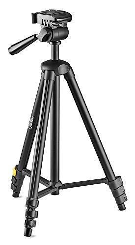 National-Geographic-Petit-Kit-Trpied-Photo-Sac-transport-Rotule-3D-Plateau-rapide-4-Sections-Verrouillage-levier-Entretoise-mi-hauteur-Charge-1kg-Aluminium-pour-Canon-Nikon-Sony-NGHPMIDI-0