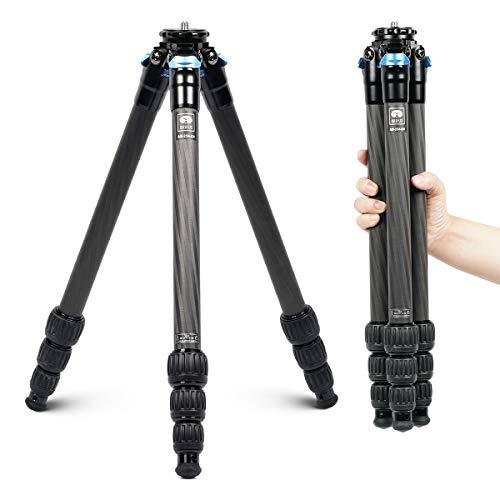 SIRUI-AM-254-Trpied-de-voyage-professionnel-en-fibre-de-carbone-pour-appareil-photo-4-sections-de-pieds-avec-pointes-amovibles-en-acier-inoxydable-Charge-maximale-12-kg-0