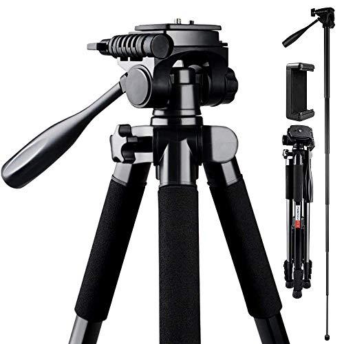 Trepied-Appareil-PhotoFOSITAN-180cm-Trepied-de-Voyage-Compact-avec-Plateau-Rapide-et-Clip-de-Telephone-Trepied-Charge-4kg-en-leger-Aluminium-avec-Tete-Pivotante-panoramique-a-360pour-DSLR-0